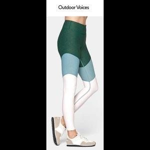 Outdoor Voices 7/8 Springs Yoga Leggings XS EUC